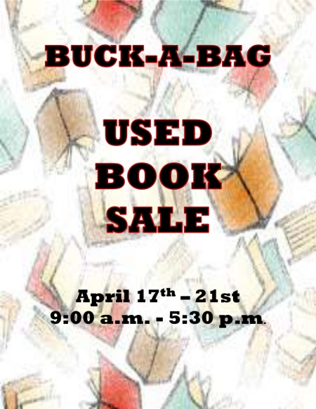 Buck a Bag Used Book Sale