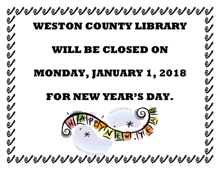 New Year's Closure