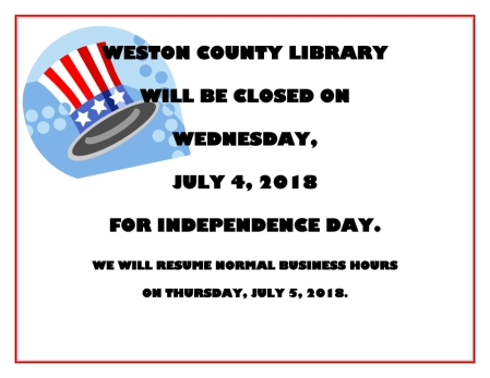 Fourth of July Closure