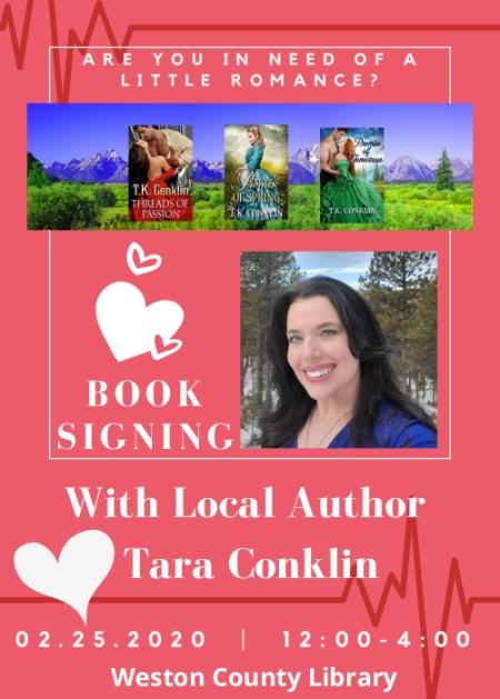 Tara Conklin Book Signing